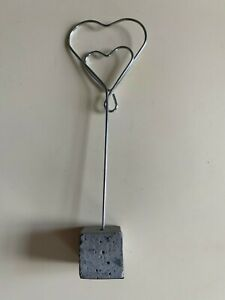 Serholt Collection heart picture holder