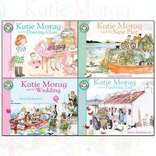Katie Morag Series Mairi Hedderwick 4 Books Collection Set NEW Dancing Class UK