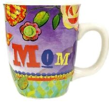 Carson Homes Coffee Mug Cup 14 oz Ceramic Colorful Mom