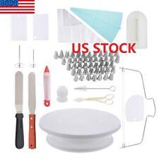 US 1X Cake Decorating Supplies Baking Set Extra Big Decoration Kit Cooking Tools