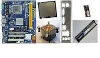 scheda madre mainboard Asrock G41M-S FSB1333 + 4GB RAM +CPU Intel E6500 2,93ghz