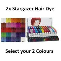 2x Stargazer Semi Permanent Hair Colour Dye - Choose Your Colour - Pinks + More