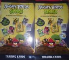 angry birds space trading carte collection - 5 paquets - (6 cartes par paquet)