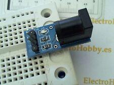 Adaptador Plug DC 5,5-2,1 Placa Universal, Protoboard, Breadboard, Power Jack