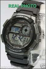 AE-1000W-1B Original Casio Men's Watch Standard Digital Black 10-Year Battery