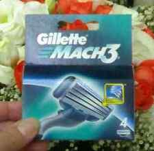 Gillette Mach3 ricambio rasoio lamette 4 pezzi trilama rasatura uomo comfort