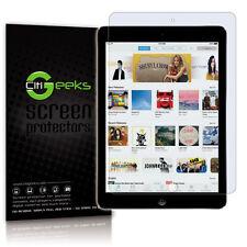 CitiGeeks® Apple iPad Air Screen Protector Crystal HD Glossy Skin [10-Pack]