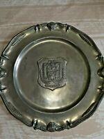 trophée football assiette du rsc ANDERLECHT 1967 LES POSTAINIERS HUTOIS VINTAGE