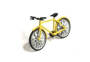 Exclusive! bicycle yellow handmade 1:43
