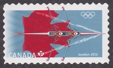 Canada 2012 #2556i London Summer Olympics die cut