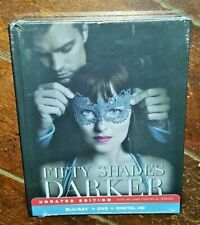 Fifty Shades Darker: Unrated Edition (Blu-ray/DVD, 2017, Universal)