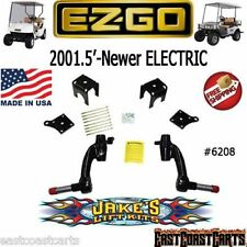 "EZGO ELECTRIC Golf Cart 2001'-Newer JAKES 6"" Spindle LIFT KIT #6208"