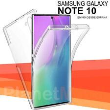 Samsung Galaxy Note 10 Funda Doble cara Carcasa 360 antigolpes integral rigida