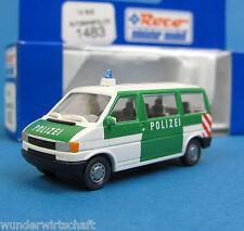 Roco H0 1483 VW T4 BUS AUTOBAHN-POLIZEI Bulli HO 1:87 Volkswagen