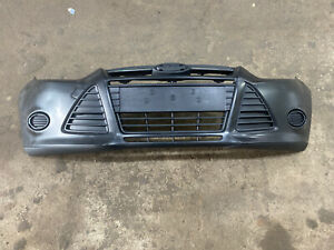 Primed - Front Bumper Cover 2012 2013 2014 Ford Focus Sedan / HatchBack Compl
