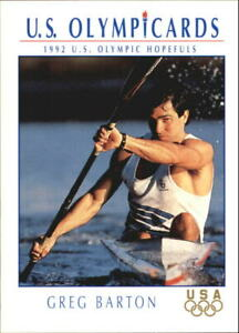 1992 Impel U.S. Olympic Hopefuls #28 Greg Barton/Canoe/Kayak