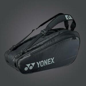 Yonex Pro Series Black 6 pack tennis badminton bag