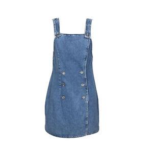 Vintage 80s GUESS Denim Dress Jumper