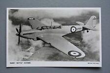 R&L Postcard:  Fairey Battle Bomber, Britain Prepared Series Photochrom
