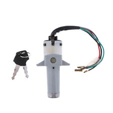 35100-KB7-017 Ignition Switch /& Fork Lock Assembly Compatible with Honda XL200R XL250R 1982-1984