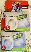 8X Pack toilet bleach tablets 2 In Each,total Of 16 Tablets .