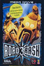 # complet comme neuf: sega Mega Drive-road rash 3/MD jeu #