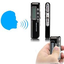 8 GB 650Hr USB Schermo LCD Registratore Vocale Digitale Audio Dittafono MP3 Player NMB