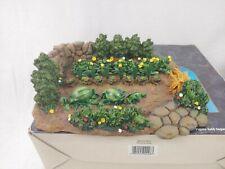 "Fontanini Vegetable Garden 5"" Scale Roman Inc. #55515 Year 1999"
