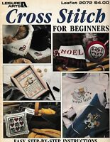 Cross Stitch For Beginners | Leisure Arts 2072