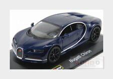 Bugatti Chiron Le Patron 2016 Blue Met BURAGO 1:32 BU42025
