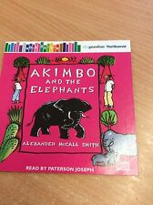 ALEXANDER McCALL SMITH AKIMBO & THE ELEPHANTS PROMO AUDIO BOOK 9E