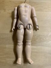 Antique Wood & Composition German Doll Body-repainted/repairs-re ady To Use As Is