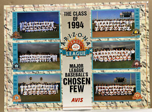 Rare Michael Jordan poster 1994 Arizona Fall League Baseball *See Description*