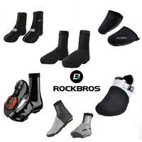 RockBros Winter Warm Cycling Shoe Covers Waterproof Protector Overshoes Black