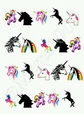 Unicorn Nail art water decals  Free Shipping Unicorns nail art!!