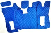 SALE SCANIA R 05-09 FLOOR SET LEATHERETTE IN BLUE [TRUCK PARTS & ACCESSORIES]