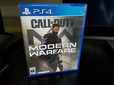 Call of Duty: Modern Warfare Complete PS4 TESTED MINT