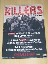 The Killers - 2007 Sams Town Australian Tour - Promo Tour Poster