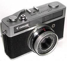 CAMERA PHOTOGRAPHY CANON CANONET JUNIOR 35MM LENS SE 40MM 1:2.8