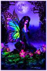 "Fairy Garden - Non Flocked Blacklight Poster 24.5"" x 36.5"" Laminated"