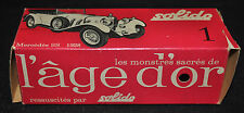 Solido Mercedes SS Torpedo Sports Car 1/43 Mint in Box - (1928) ITB WH