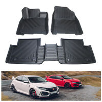 All Weather Anti-Slip TPE Floor Liners Protector Mat for Honda Civic 2016-2020