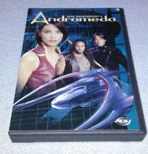 Andromeda Season 1 Collection 3 (Episode 111-114) DVD, Steve Bacic RARE** oop*