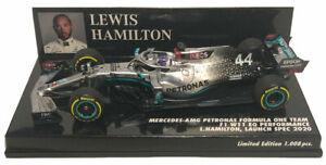 Minichamps Mercedes F1 W11 #44 Launch Spec. 2020 - Lewis Hamilton 1/43 Scale