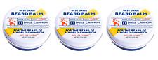 Duke Cannon. Best Damn Beard Balm Made in USA, Redwood, 1.6 Oz (3 Pack)
