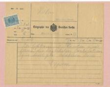 German Used Postal History Stamps