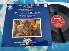 9502 022 HANDEL - Organ Concertos Nos. 10 - 13 / Chorzempa / Schroder - PHILIPS