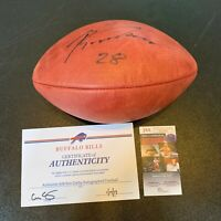 Ronald Darby #28 Signed NFL Wilson Game Football With JSA COA Buffalo Bills