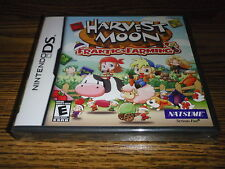 Harvest Moon Frantic Farming Nintendo DS Game New Sealed