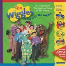 The Wiggles: A Day With The Wiggles PC MAC CD shapes letters music dance game!